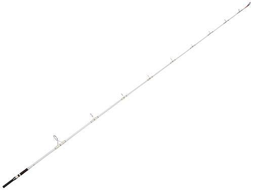 OKUMA Battle Cat Catfish Spinning Rods (2-Piece), 7-Feet 6-Inch/Heavy, white