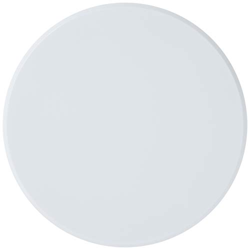 """PRIME-LINE U 9271 Wall Protector, 5"""" – White Vinyl Wall Protection Pad, Easy to Install with Self Adhesive, Smooth and Paintable Finish"""