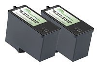 EnviroInks Compatible 2-Pack Dell Series 5 High-Capacity Black Ink Cartridge...