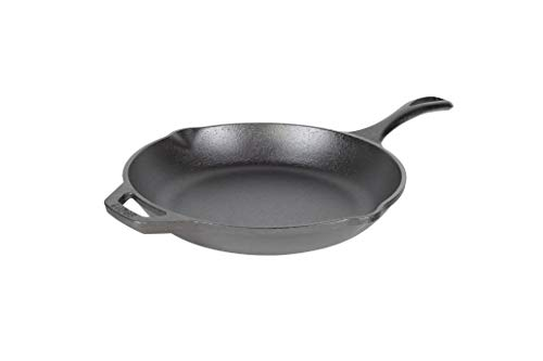 Lodge Chef Collection 10 Inch Cast Iron Chef Style Skillet. Seasoned and Ready for the Stove, Grill or Campfire. Made from Quality Materials for a Lifetime of Sautéing, Baking, Frying and Grilling