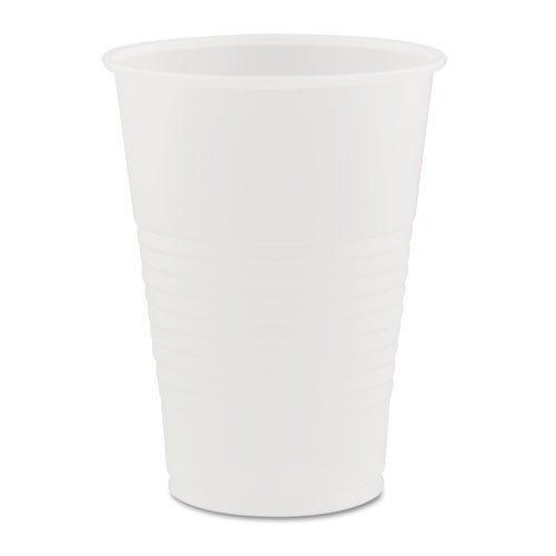 Dart Conex Galaxy Polystyrene Plastic Cold Cups, 7 oz, 100 Per Sleeve (Case of 25 Sleeves)