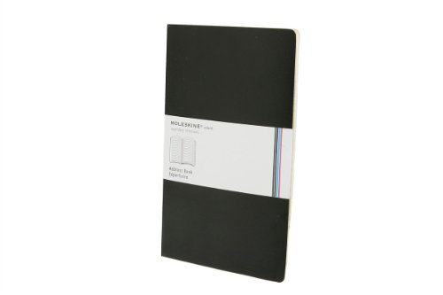 Moleskine Volant Address Book, Large, Black, Soft Cover (5 x 8.25)
