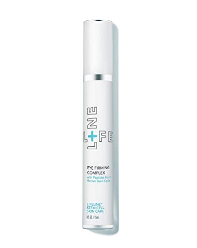 Anti-Wrinkle Eye Firming Cream Complex with stem cells technology - by Lifeline Skin Care - 0.5 oz