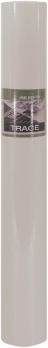 PRO ART 12-Inch by 50-Yards Tracing Paper Roll, White Color