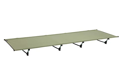 DESERT WALKER Camping Cots, Outdoor Bed Ultra Lightweight Bed Portable cot Free Storage Bag Included,2.8 Pounds (Army Green)