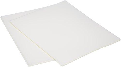 AmazonBasics Thermal Laminating Plastic Laminator Sheets - 8.9 Inch x 11.4 Inch, 50-Pack