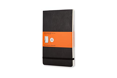 Moleskine Classic Notebook, Soft Cover, Pocket (3.5' x 5.5') Ruled/Lined, Black, 192 Pages