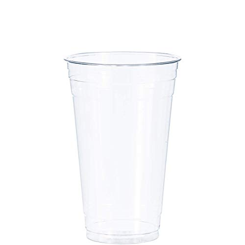 DART - DCCTD24 Dart TD24 24 oz Ultra Clear PET Plastic Cup (Case of 600)