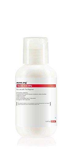 Acne.org Travel Size 3.4 oz. AHA+ (10% Glycolic Acid + Licochalcone)