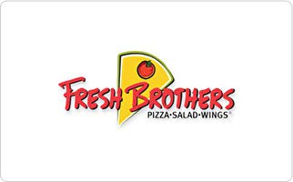 Fresh Brothers Gift Card ($50)