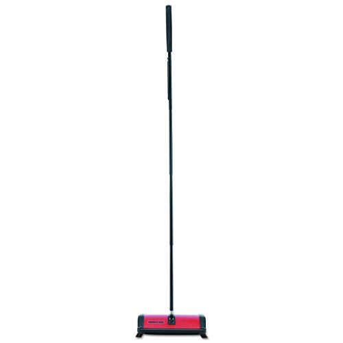 Oreck 23T Commercial Restauranteur Sweeper, Red, 9 1/2w x 8d x 43 1/2h