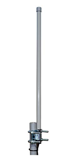 Proxicast 3G / 4G LTE 9 dBi Omni-Directional Permanent Mount Outdoor Fiberglass Antenna for Verizon, AT&T, Sprint, T-Mobile, USCellular and WiFi / 900 MHz