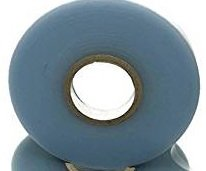AAAmercantile Clear Garden tie Tape Non-Adhesive 300 FEET x 1/2' 4mil Thick Stretch Plant Vinyl Stake