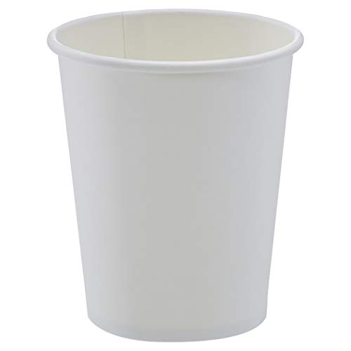Amazon Basics Compostable 8 oz. Hot Paper Cup, Pack of 1,000