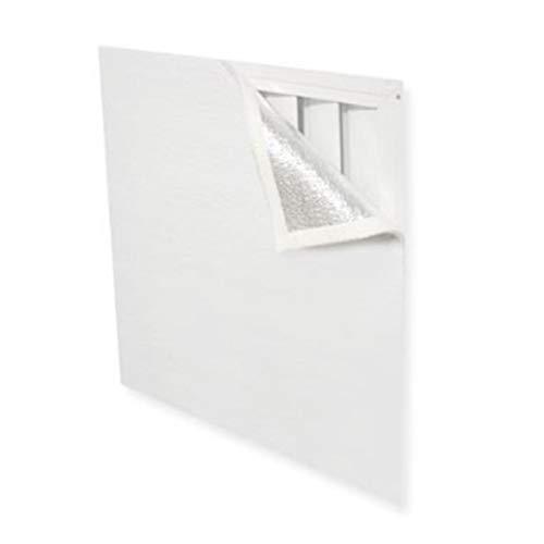 Obobb Fan Cover,Attic Fan Cover Shutter Seal Cover Attic Vent Insulation Sealer Attic Door Insulation Cover
