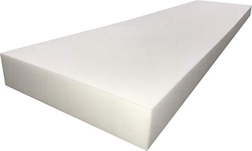 FoamTouch Upholstery Foam 2' x 24' x 72' High Density Cushion
