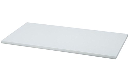 Organized Living freedomRail Wood Shelf, 30-inch x 14-inch - White