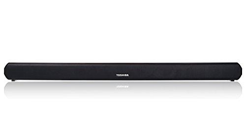 Toshiba 2.0 Channel Bluetooth Soundbar TV Speaker: Sound Bar with Optical, AUX, USB Inputs & Remote Control