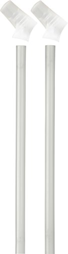 Camelbak Eddy Accessory Bite Valves and Straws-Pack of 2 (Clear)