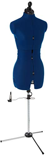 Dritz My Double Deluxe, Medium Dress Form, Blue