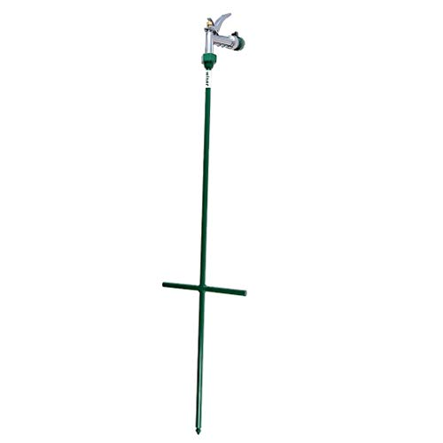 Heavy Duty Stainless Steel Deep Root Watering Rod, Adjustable Garden Watering Wand with Ergonomic Handle, Spray Different Water Nozzle, Hose Nozzle, Perfect for Watering Trees, Flowers, Lawn, Shrubs