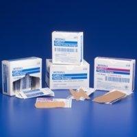 CURITY Flexible Adhesive Bandages 3/4' X 3', Sensitive Skin, Sheer 50/Box