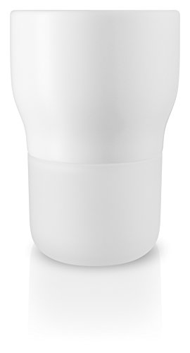 Eva Solo Self-Watering Flower and Herb Pots - Perfect for Indoor or Outdoor Planting (13cm Diameter, Chalk White)