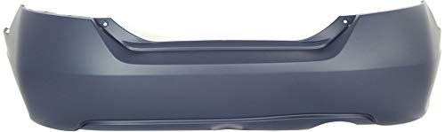 Rear Bumper Cover Compatible with 2006-2011 Honda Civic Primed Coupe