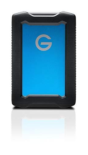 G-Technology 2TB ArmorATD All-Terrain Rugged Portable External Hard Drive - USB-C, Thunderbolt 3, USB 3.0 - 0G10434-1