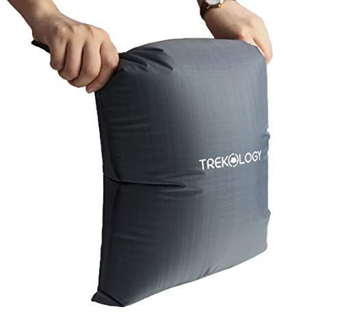 TREKOLOGY 10L Pump Sack Roll Top Compression Pump Bag for UL80v2 Sleeping Mats, 22mm Nozzle Size Pump Sack for Camping Mats, Sleeping Pad, Sleeping Mattress, Inflatable Sleeping Mats