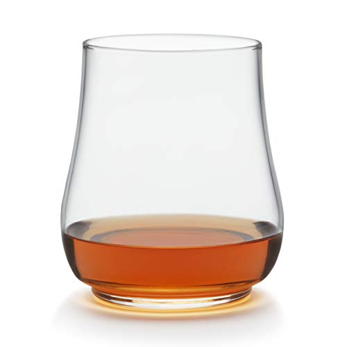 Libbey Perfect For Everything Stackable Stemless Glasses, Set of 6