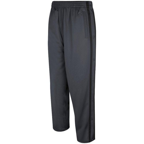 Colosseum Mens Tearaway Athletic Pants (Charcoal/Black) - X-Large