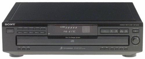 Sony CDP-CE315 5-CD Changer (Discontinued by Manufacturer)