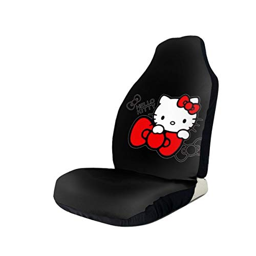 ZWFLAU Hello Kitty Car Seat Covers for Car Seat Protectors 1 PCS/2 PCS