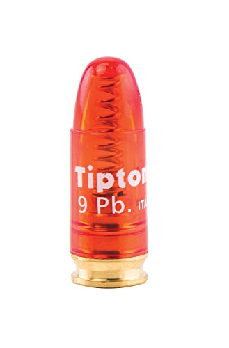 Tipton Pistol Snap Caps 9mm Luger with False Primer and Reusable Construction for Dry-Firing, Practice and Safe Firearm Storage, 5 Pack