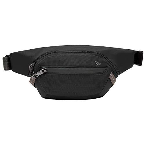 Travelon Anti-Theft Active Waist Pack, Black, One Size