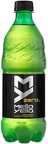 Mello Yello Citrus Flavored Soda 6, 20 ounce bottles (Mello Yello Zero)