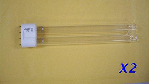 Jebao 2X UV Bulb 18W 18 watts Lamp 2G11 Base Pond Sterilizer Clarifier for Odyssea