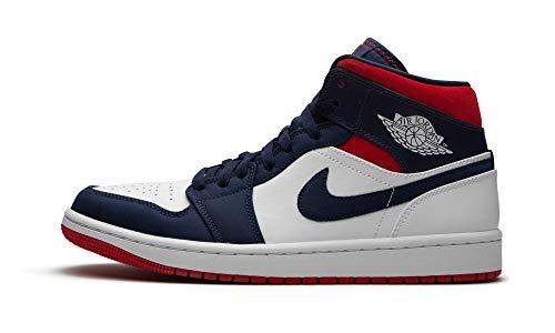 Jordan Men's Shoes Nike Air 1 Retro Mid Se Olympic 852542-104 (Numeric_10)