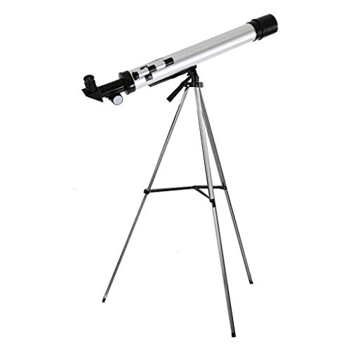 Telescope for Astronomy Beginners with Sturdy Steel Tripod 600/50mm Astronomical Refractor Telescope for Adults, Great Astronomy Gift for Kids to Explore Moon and Planets