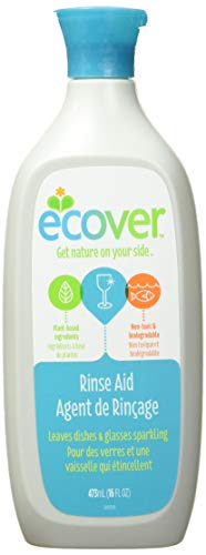 Ecover Naturally Derived Rinse Aid for Dishwashers, 16 Ounce