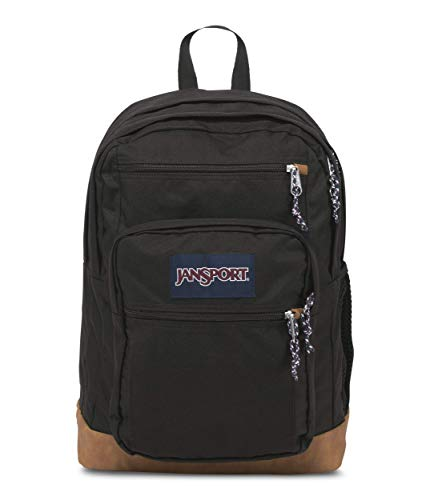 JanSport Mens Classic Mainstream Cool Student Backpack - Black / 17.7H X 12.8W X 5.5D, One Size