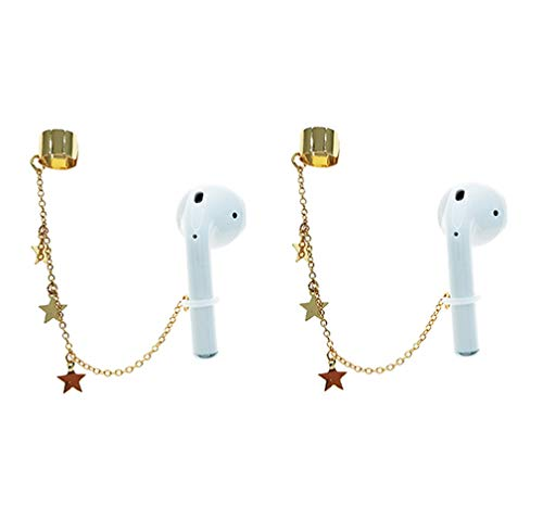 Airpod Holder Anti Lost Earring Strap for Airpods (NO Need Ear Hole) Creative Earring Strap, Anti Lost Earring for AirPods Compatible with Airpods 2&1 3/Pro