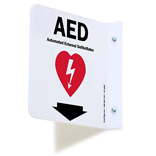 SmartSign'AED' Projecting Sign | 6' x 6' Acrylic