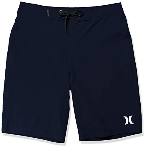 Hurley Men's Phantom One and Only Board Shorts, Obsidian, 34