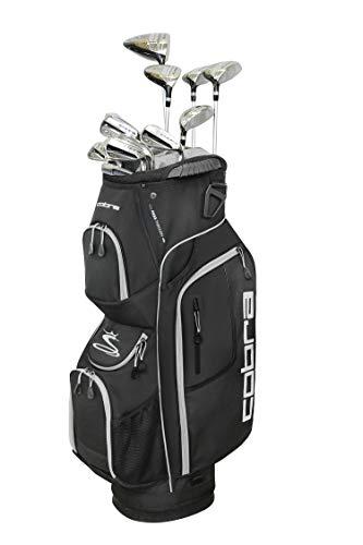 Cobra Golf 2019 XL Speed Complete Set (Men's, Black, Right Hand, Graphite, Senior Flex)