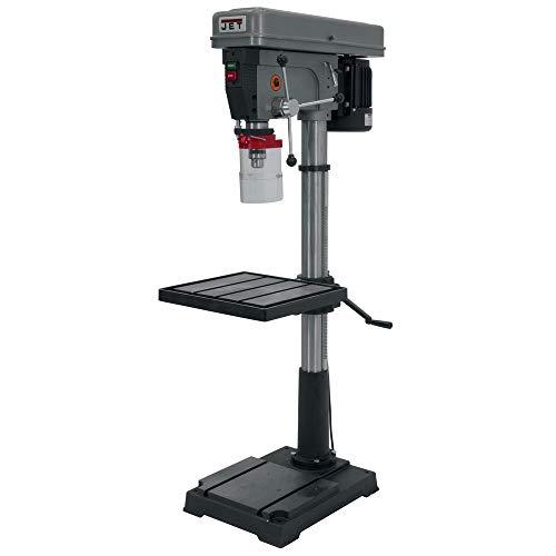 JET J-2550 20-Inch 1-Horsepower 115-Volt Single Phase Floor Model Drill Press