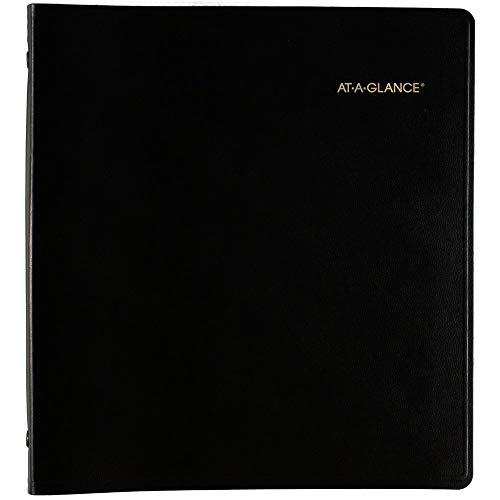 2021-2025 Planner by AT-A-GLANCE, 5 Year Monthly Planner, 9' x 11', Large, Black (702960521)