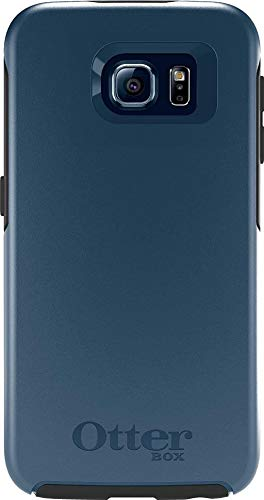 OtterBox Symmetry Series Slim Case for Samsung Galaxy S6 - Non-Retail Packaging - (City Blue)