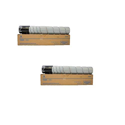 Konica Minolta A33K031 TN513 OEM Toner 2 Pack, 24000 Page-Yield Per Ctg, Black